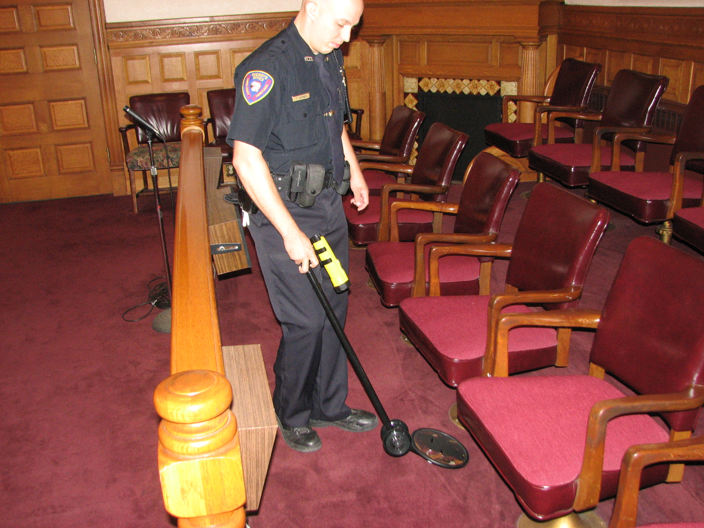 Court Room Security